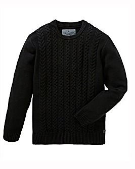 Voi Charge Cable Knit Jumper