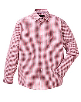 Double Two Gingham Check Shirt