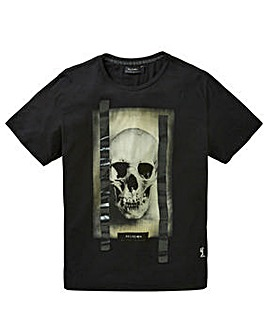 Religion Skull Foil T-Shirt Long