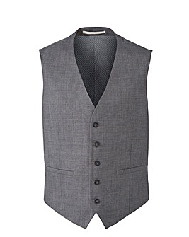 Burton Textured Suit Waistcoat