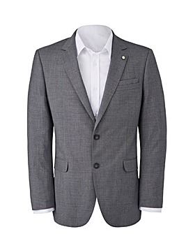 Burton Textured Suit Jacket Reg