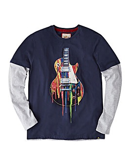Joe Browns Melt Guitar LS T-Shirt Long
