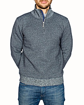 Bewley & Ritch Fence 1/2 Zip Sweat
