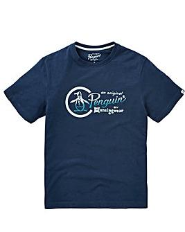 Original Penguin Script Logo T-Shirt