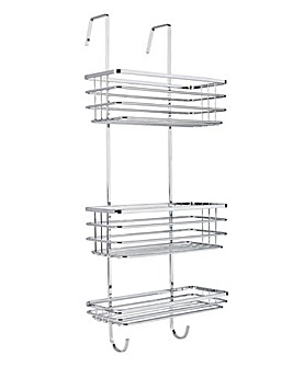 Flat Wire Over Shower Caddy