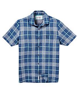 Original Penguin Plaid Linen Shirt