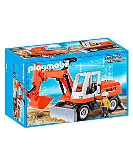 Playmobil Construction Rubble Excavator