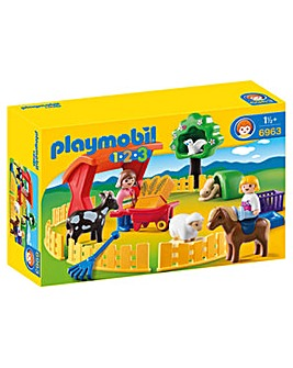 Playmobil 123 Petting Zoo