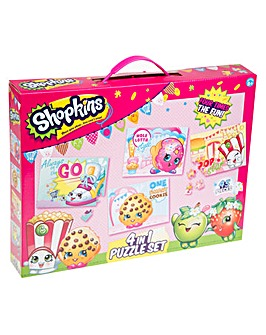 Shopkins 4 Pack Puzzle