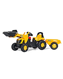 Rolly Kid JCB Tractor with Front Loader