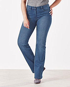 Simply Be 360° Fit Bootcut Jeans Short