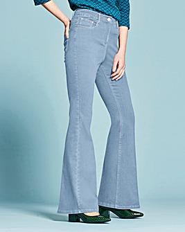Phoebe High Waist Kick Flare Jeans Reg