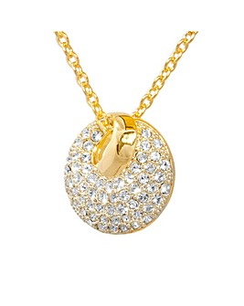 Espree Gold Plated Crystal Pendant