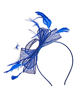 Cobalt Blue Headband Style Fascinator