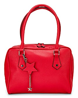 Red Lola Bowler Bag