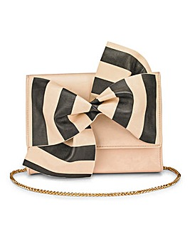 Oiana Stripe Bow Bag