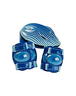 Bike Helmet and Pad Set - Boy