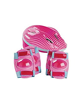 Bike Helmet and Pad Set - Girl