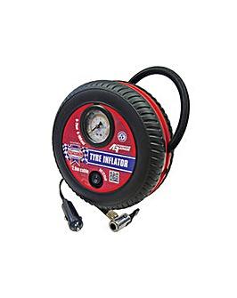 Tyre Inflator 12v 100psi - 7 Bar