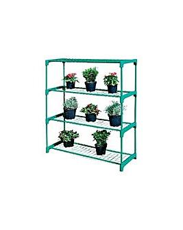 4 Shelf Tubular Greenhouse Staging