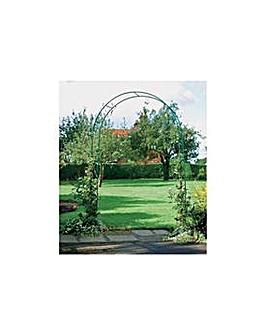 Steel Garden Rose Arch.