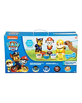 Paw Patrol Paint Your Own Figures 3Pack