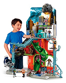 TMNT Movie 2 Sewer Lair Playset