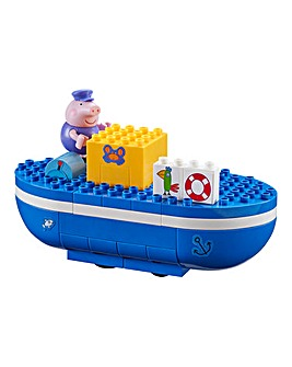 Peppa Grandpa Pigs Boat Construction Set