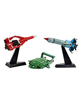 Thunderbirds Die Cast Vehicle Triple Pk