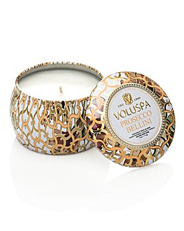 Voluspa Prosecco 4oz Candle Mini Tin