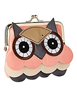 Owl Kiss Clasp Purse
