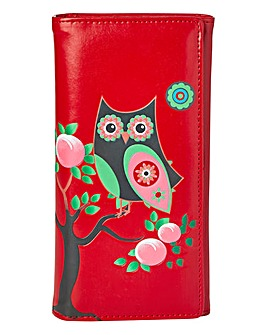 Owl Clutch Purse