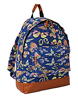 Butterfly Glitter Back Pack