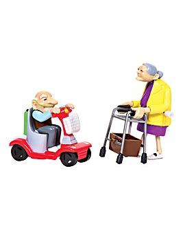 Racing Granny and Grandad