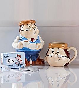 Tetley Tea Caddy and Mug Set
