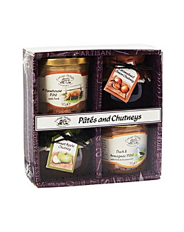 Cottage Delight Pates & Chutney Set