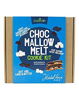 Bakedin Choc Mallow Melt Cookie Kit