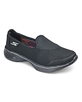 Skechers Go Walk 4 Trainers Wide Fit