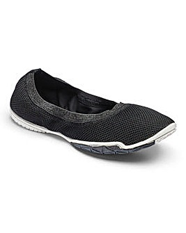 Be Active Slip On Yoga Shoes E Fit