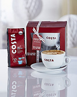 Costa Cup & Saucer Set for 2