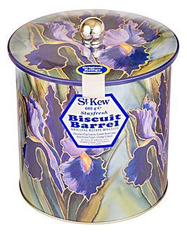 St Kew Iris Biscuit Barrel 600g