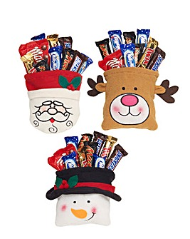 Set of 3 Christmas Goody Bags