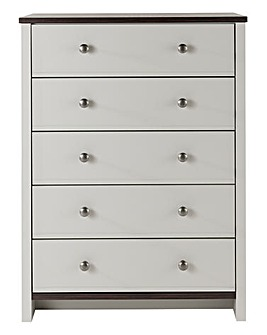 Salcombe 5 Drawer Wide Chest