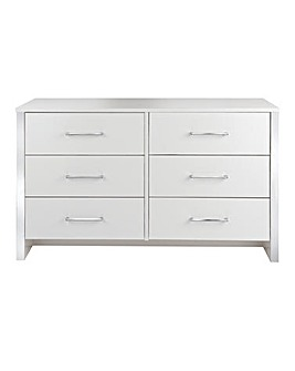 Luna 6-Drawer Wide Chest