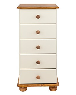Stamford 5 Drawer Narrow Chest