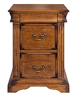Burleigh 2 Drawer Bedside Table