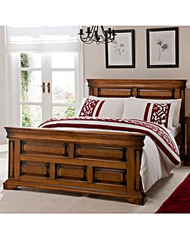 Burleigh Bedstead with Memory Mattress