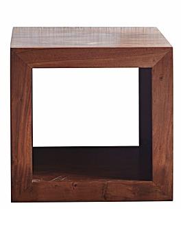 Java Ready Assembled Acacia Wood Cube