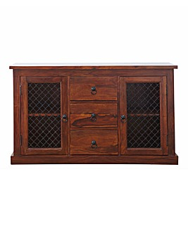 Jaipur Large 2 Door 3 Drawer Sideboard