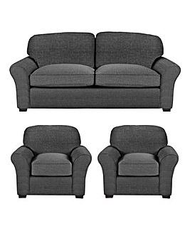 Newbury 3 Sofa plus 2 Chairs